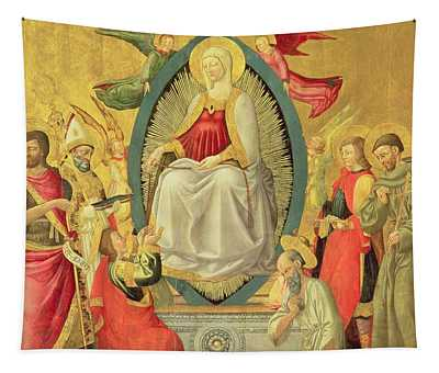 Ascension Of The Virgin, 1465 Tapestry