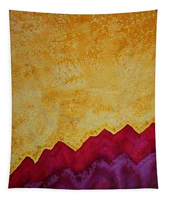 Ascension Original Painting Tapestry