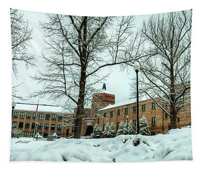 Asheville High School During Winter Tapestry