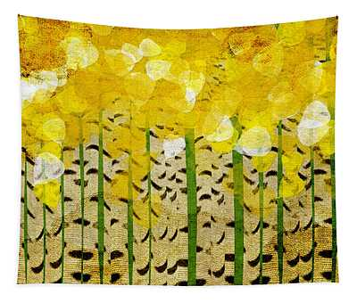 Aspen Colorado Abstract Panorama Tapestry