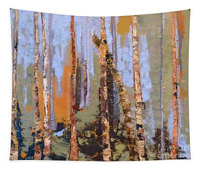 Aspen Forest Colorado Tapestry