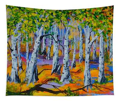 Aspen Friends In Walkerville Tapestry