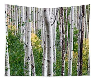 Aspen Trees Tapestry
