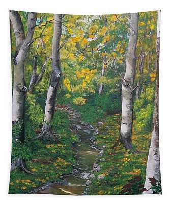 Aspens In The Fall Tapestry
