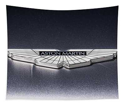 Aston Martin Badge Tapestry