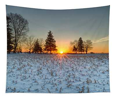 At First Light Tapestry
