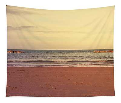 At The Beach Tapestry by Andrea Mazzocchetti