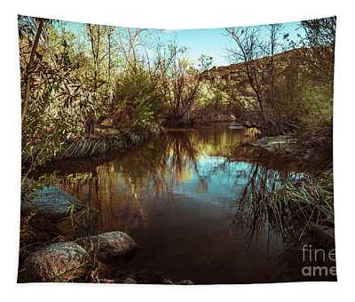 At The River Tapestry by Alexander Kunz