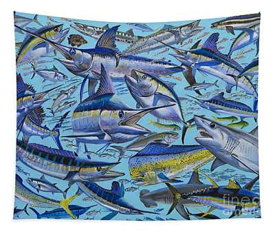 Atlantic Gamefish Off008 Tapestry