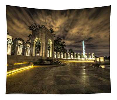Atlantic Side Of The World War II Memorial Tapestry
