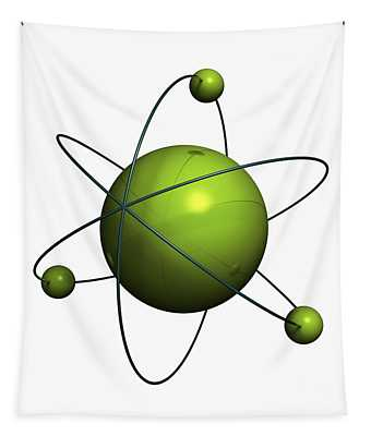 Atom Structure Tapestry