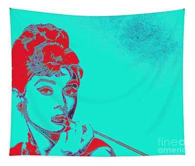 Audrey Hepburn 20130330v2p128 Tapestry