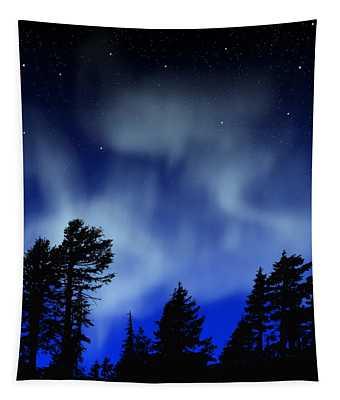 Aurora Borealis Wall Mural Tapestry