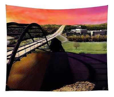 Austin 360 Bridge Tapestry