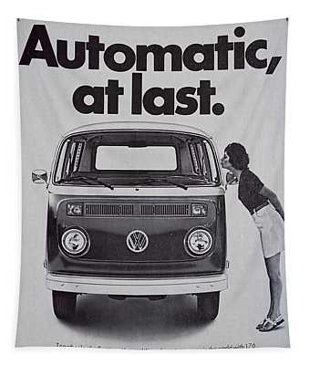 Automatic At Last Tapestry