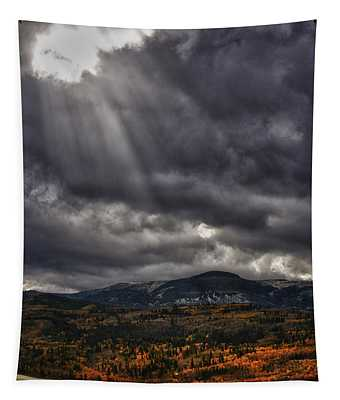 Autumn Beams Tapestry