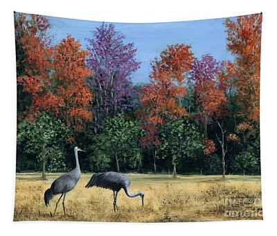 Autumn In Florida Tapestry