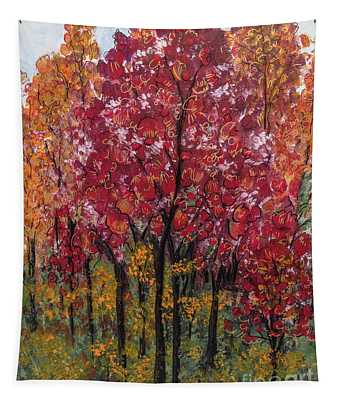 Autumn In Nashville Tapestry