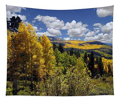Autumn In New Mexico Tapestry