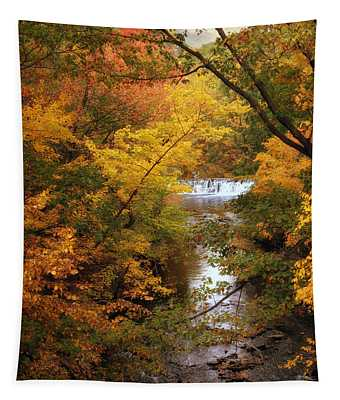 Autumn On Display Tapestry