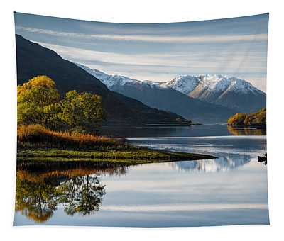 Autumn On Loch Leven Tapestry