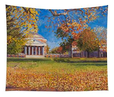 Autumn On The Lawn Tapestry
