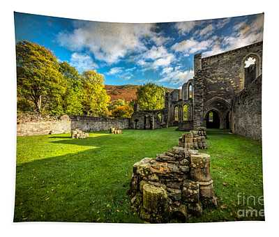 Autumn Ruins Tapestry