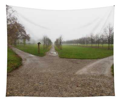 Autumnal Countryscape Tapestry