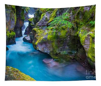 Avalanche Creek Gorge Tapestry