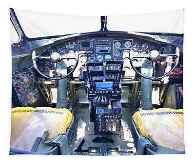 B-17 Front Office Tapestry