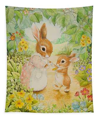 Baby Bunny Tapestry