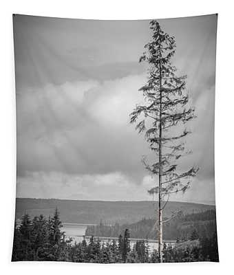 Tall Tree View Tapestry