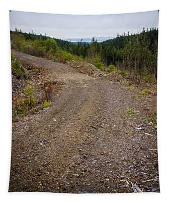 4x4 Logging Road To Adventure Tapestry