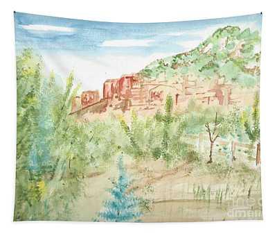 Backyard Sedona Tapestry