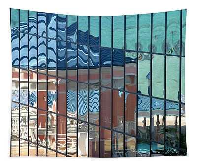 Bahamas Beach Pavilion Tapestry