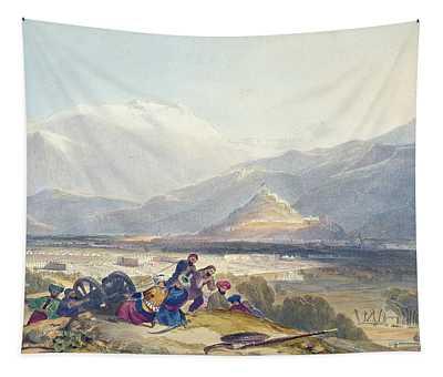 Bala Hissar And City Of Kabul Tapestry