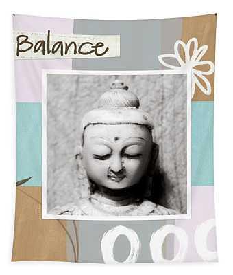 Balance- Zen Art Tapestry