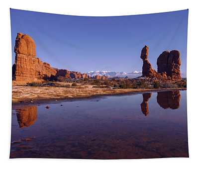Balanced Reflection Tapestry