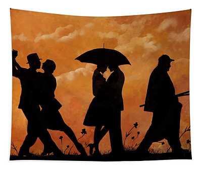 Ballando E Altro Tapestry