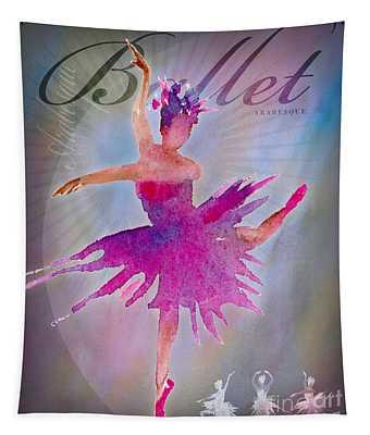 Ballet Arabesque Poster Tapestry