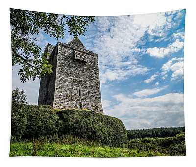 Ballinalacken Castle In Ireland's County Clare Tapestry
