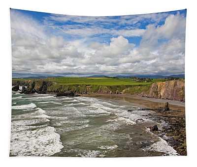 Ballydowane Cove On The Copper Coast Tapestry