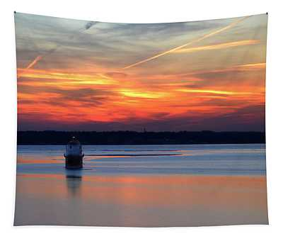 Baltimore Light At Gibson Island Tapestry