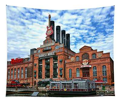Baltimore Power Plant Tapestry