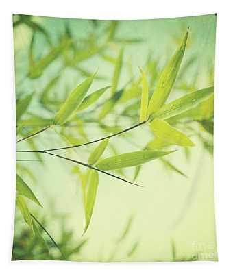 Green Leaf Photographs Wall Tapestries