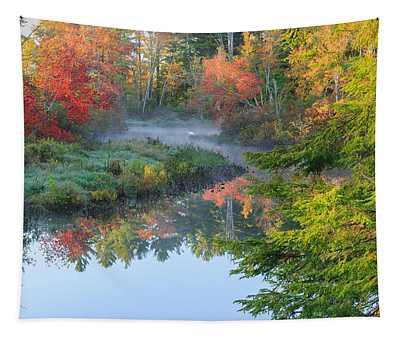 Bantam River Autumn Tapestry