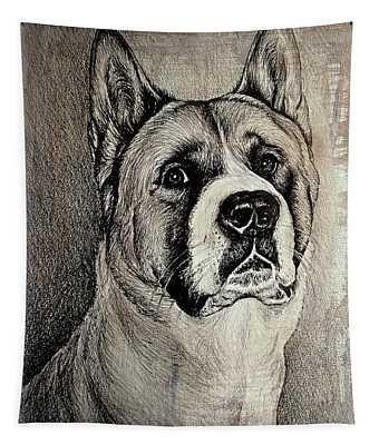 Barney The Dog Tapestry