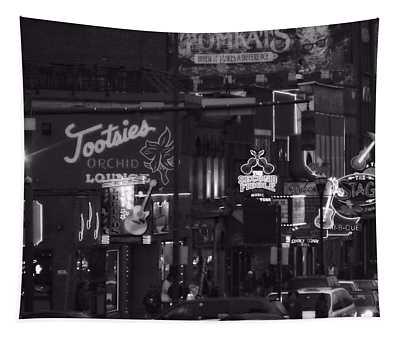 Bars On Broadway Nashville Tapestry