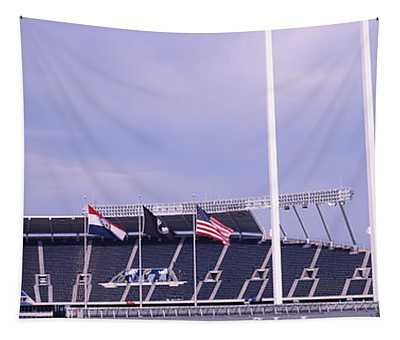 Baseball Stadium In A City, Kauffman Tapestry
