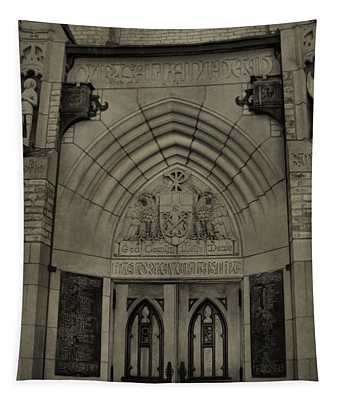 Basilica Of The Sacred Heart  Tapestry